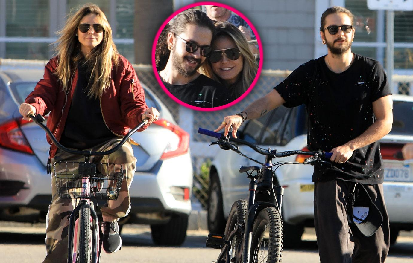 Heidi Klum And Tom Kaulitz Hang Out With Kids After Engagement