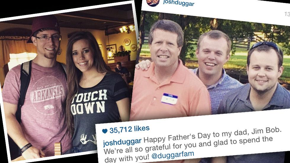 Josh Duggar Sex Abuse Scandal Fathers Day Instagram