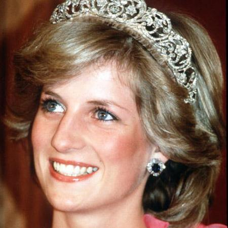 // princess diana princess of wales smiles while gettyimages