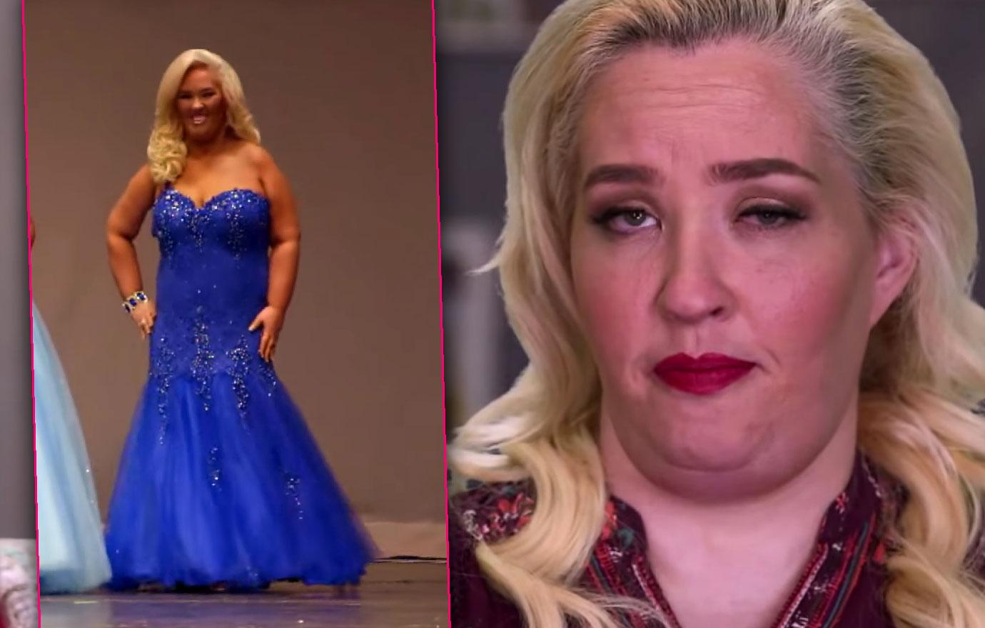 mama june gains 50 pounds weight loss surgery from not to hot