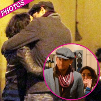 //mila ashton kiss rome