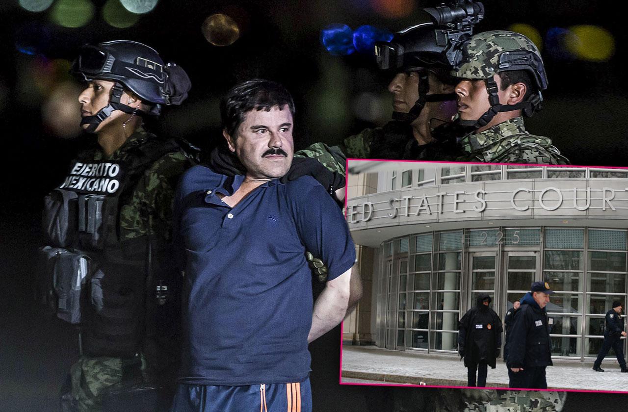 El Chapo Mexico Cartel Boss Guilty Life In Prison