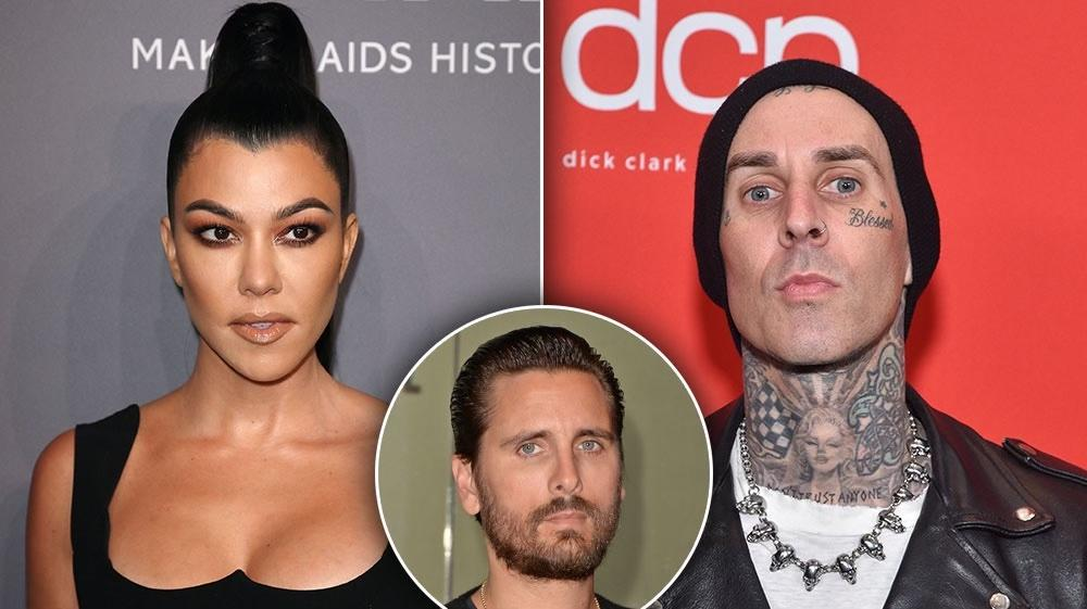 Scott Disick Is Reportedly 'Jealous' of Kourtney Kardashian and Travis Barker's Budding Romance