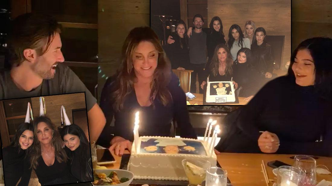 Caitlyn Jenner's 70 Birthday Party: Bruce Cake & Khloe Snub