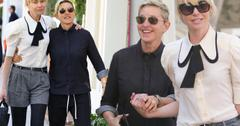 Ellen Degeneres Portia De Rossi Step Out Vow Renewal Soon