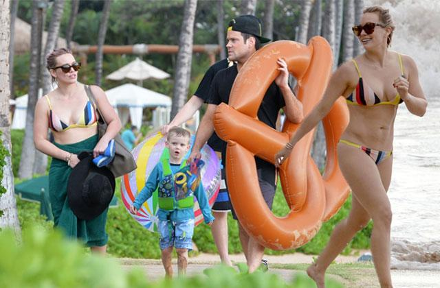 //hilary duff mike comrie divorce hawaii vacation pp