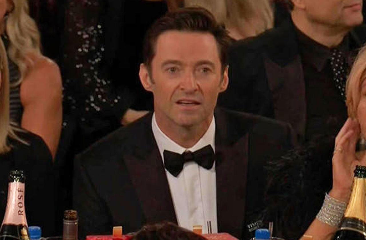 //Hugh Jackman James Franco Golden Globes pp