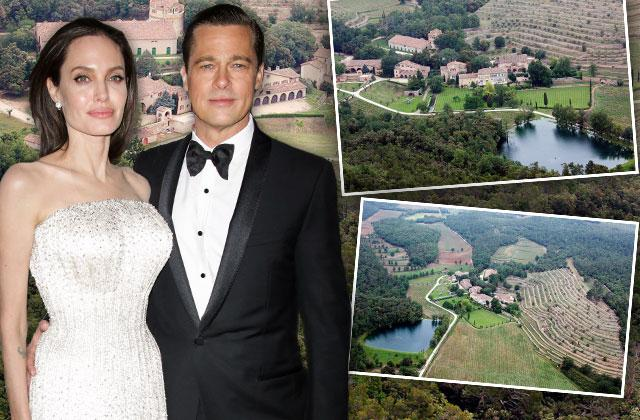 Brad Pitt Angelina Jolie Divorce Selling French Estate Chateau Miraval