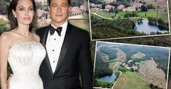 Brad Pitt Angelina Jolie Divorce Selling French Estate Chateau Miraval