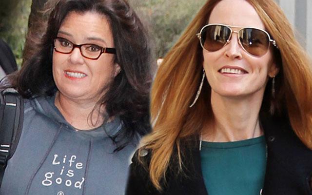 //rosie odonnell michelle rounds divorce settlement