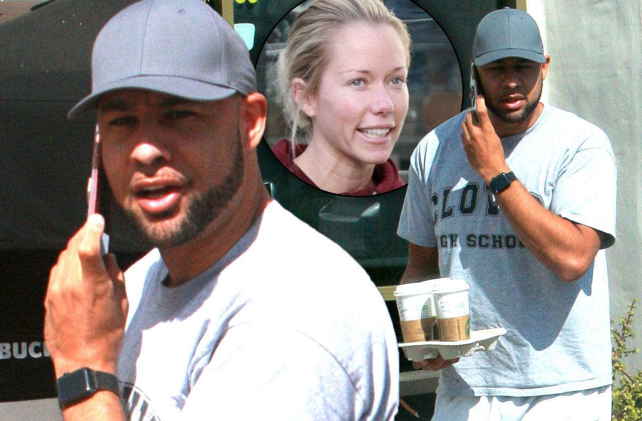 //Kendra Wilkinson Hank Baskett Still Living Together Divorce Starbucks  pp