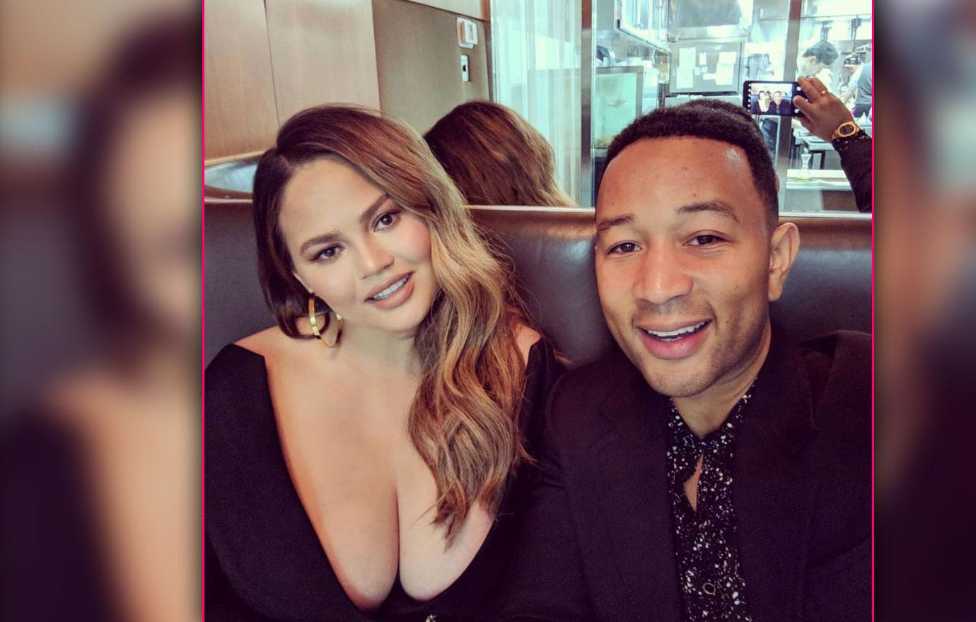 Chrissy Teigen In Busty Date Night With John Legend