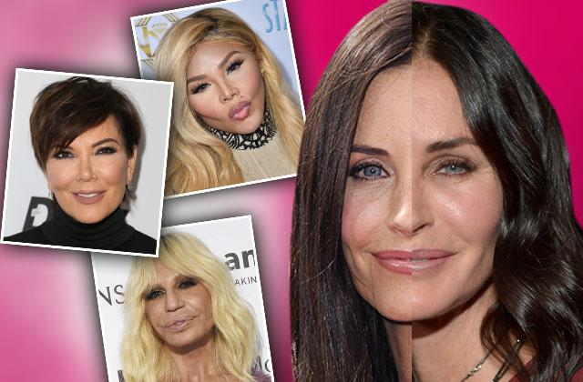 //celebrity plastic surgery freaky faces