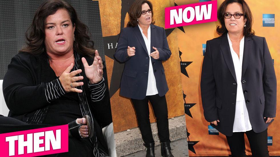 Rosie ODonnell Weight Loss Custody Battle