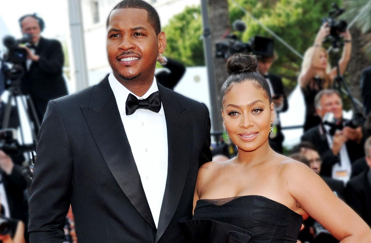 //Carmelo anthony lala anthony divorce reconciliation new york knicks pp
