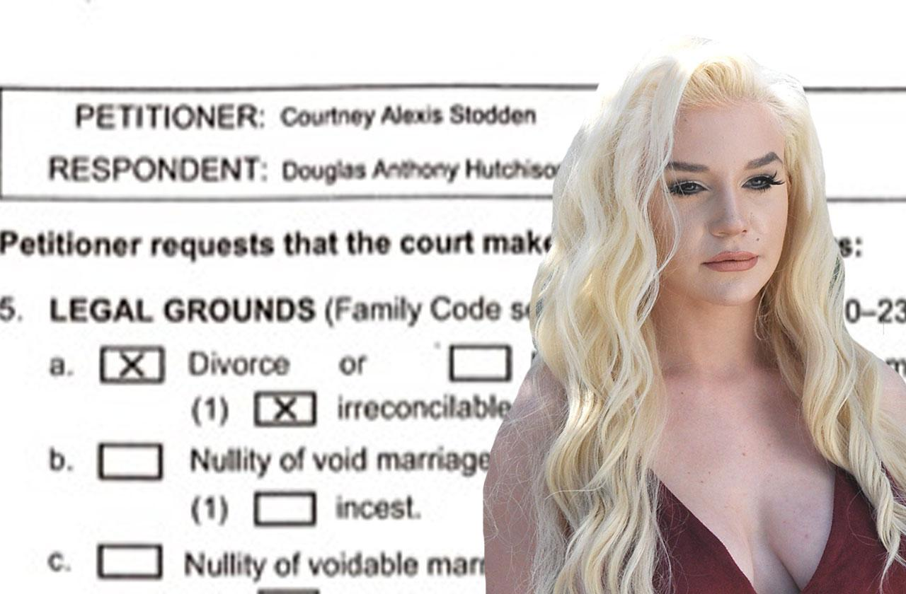 //courtney stodden divorce broke pp