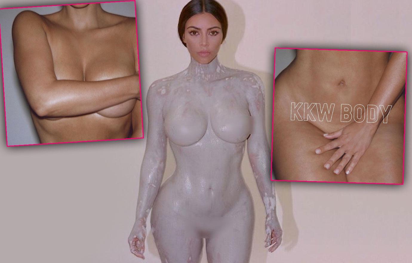 Kim Kardashian Posts Naked Photo After Ellen Appearance