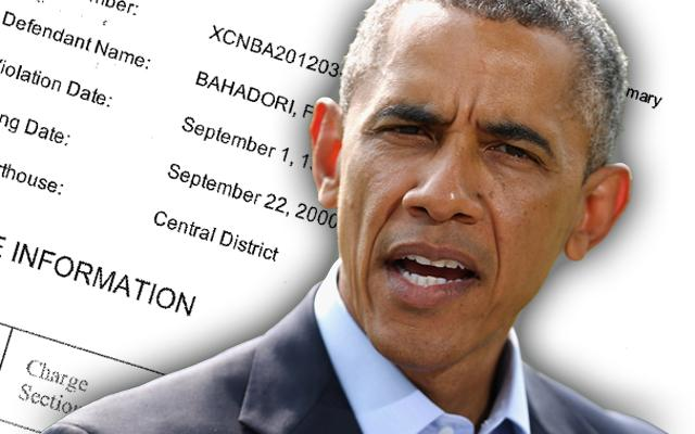 Barack Obama Fashion Guru Criminal Record