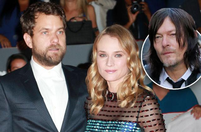 Diane Kruger Cheating Joshua Jackson Kissing Norman Reedus