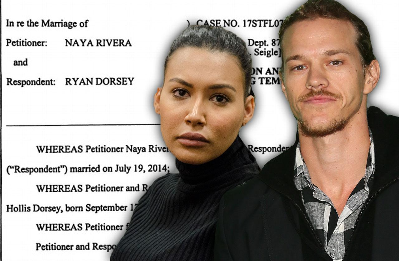 //naya rivera custody agreement pp