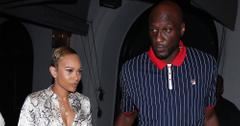 Lamar Odom Claims Ex-Fiancee Sabrina Parr Is Holding His Social Media 'Hostage'