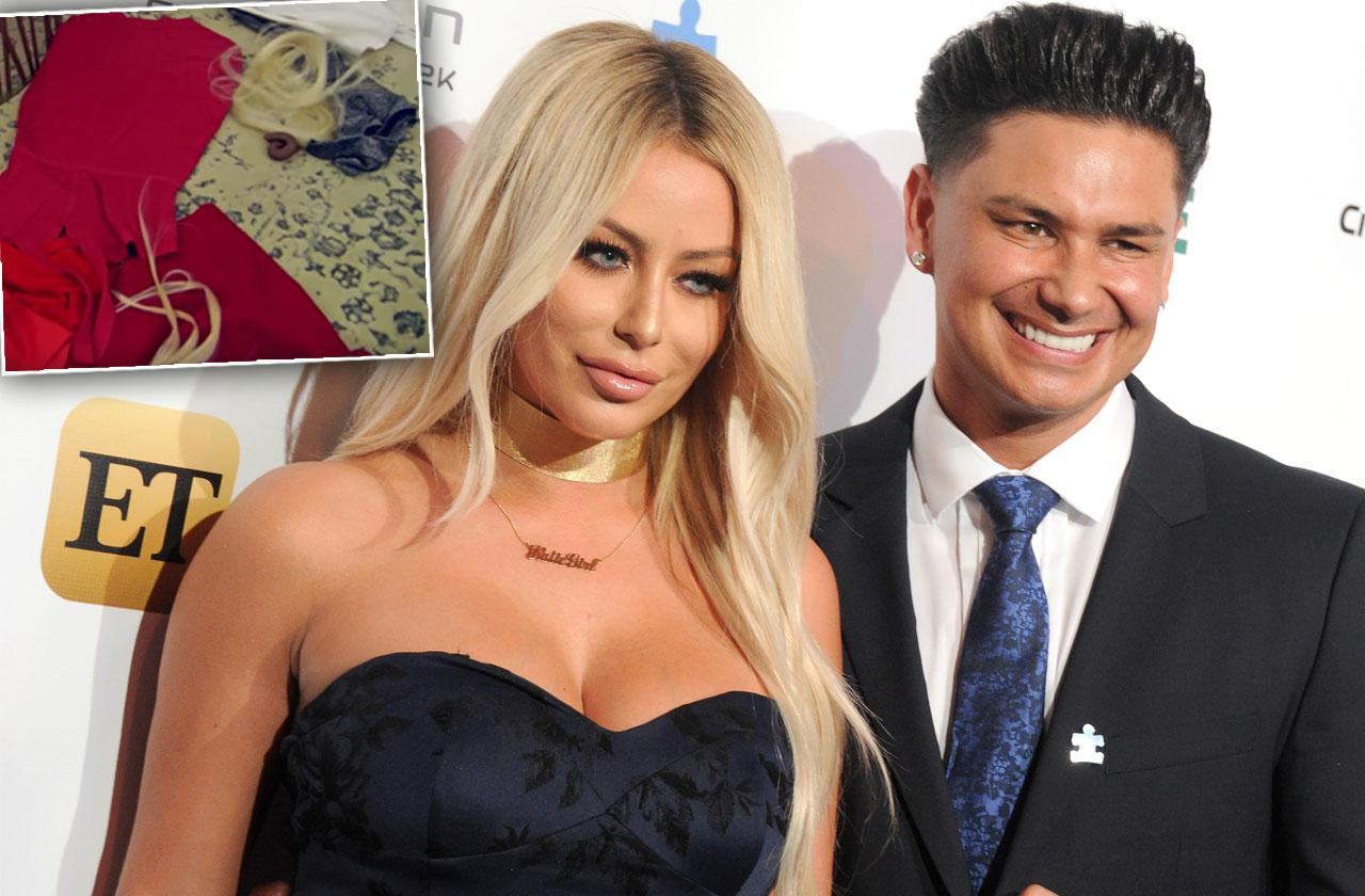 Pauly D & Aubrey O'Day Fight 'Marriage Boot Camp: Lovers & Liars'