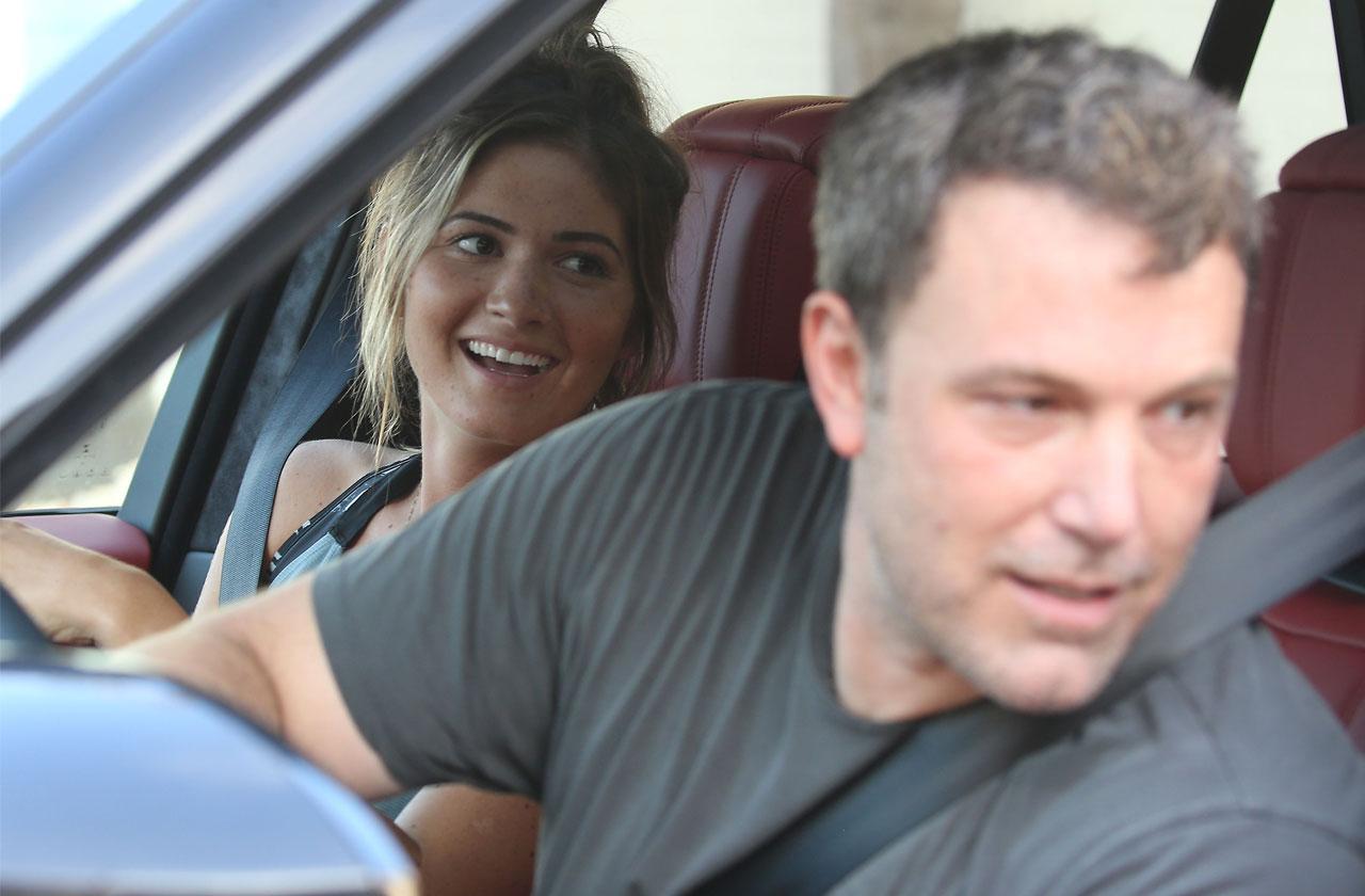 Ben Affleck Playboy Girlfriend Staying Sober After Rehab Return