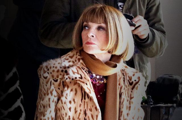 //anna wintour requires starbucks coffee at all times pp