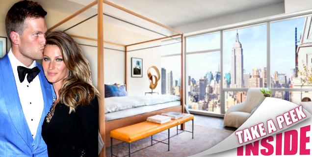 //tom brady and gisele bundchens  million new york city condo