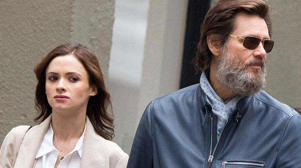 Jim Carrey Cathriona White Funeral