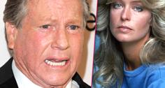 //ryan oneal exclude farrah fawcett dying wish art war trial
