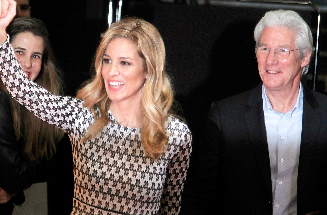 //Richard Gere Becoming Father Again  pp