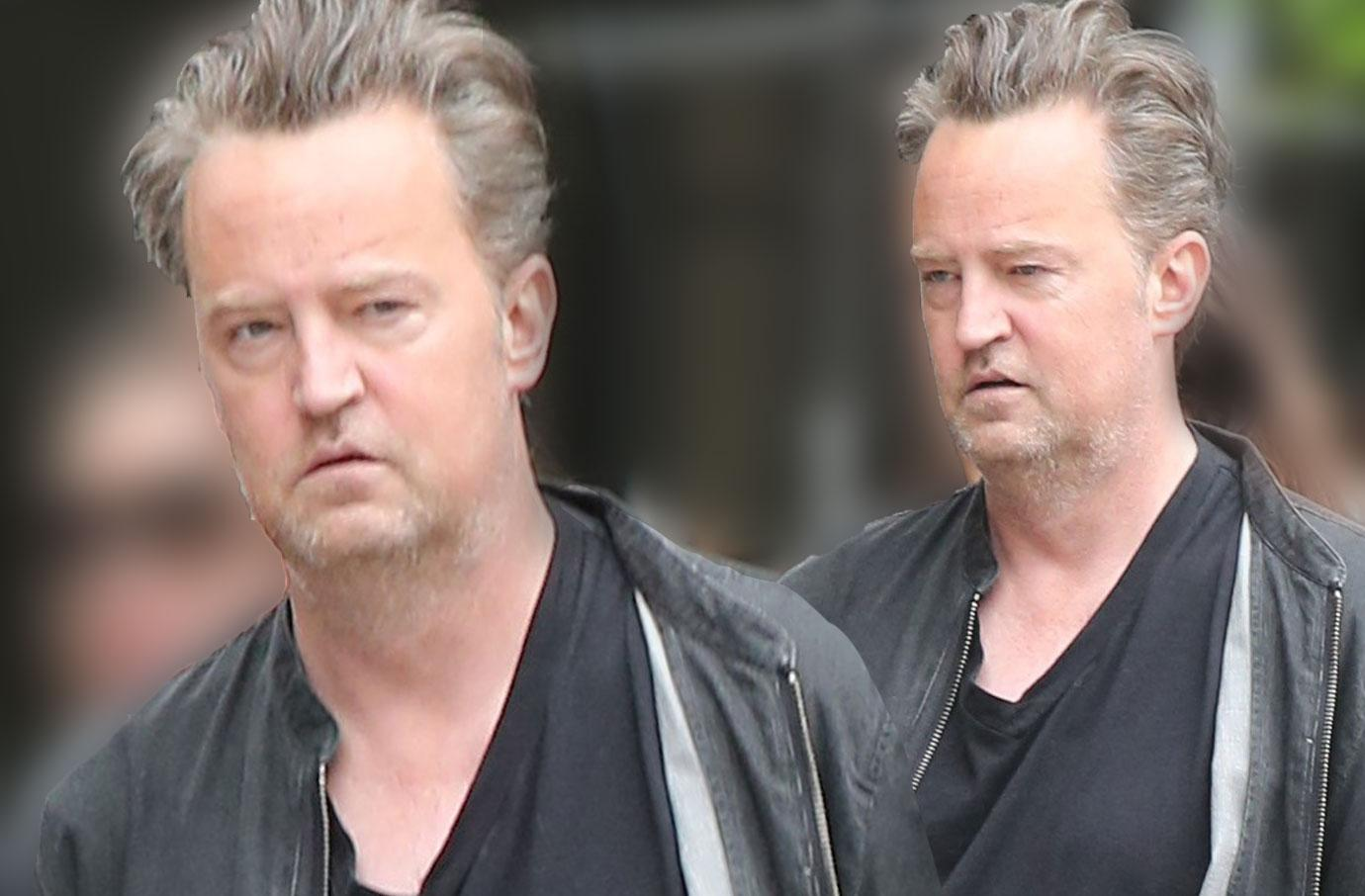 Matthew Perry Unrecognizable Sober NYC