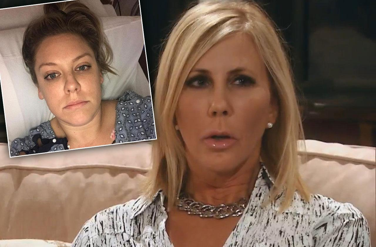 Vicki Gunvalson Update Daughter Health