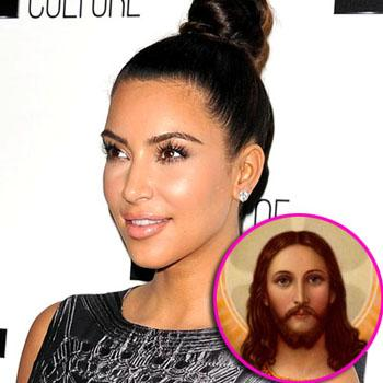 //kim kardashian jesus wenn