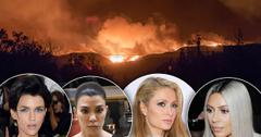//California Wildfire Celebrity Reactions pp