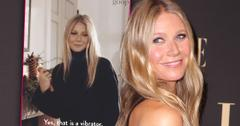 Gwyneth Paltrow Gifts Herself A Vibrator For Christmas