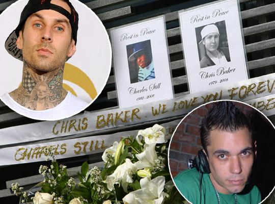 //travis barker plane crash nightmare pp
