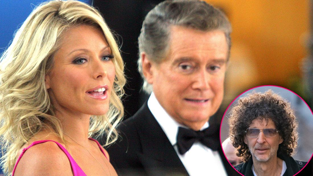 Howard Stern Angry Regis Philbin Was Shut Out Of 'Live': 'Why The Abandonment?'
