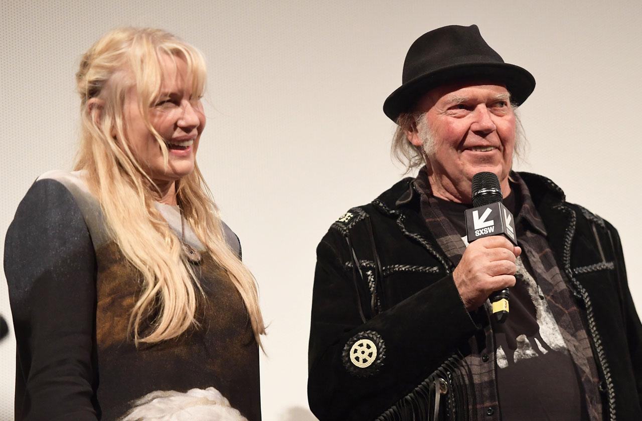 Neil Young Marries Daryl Hannah Yacht Wedding