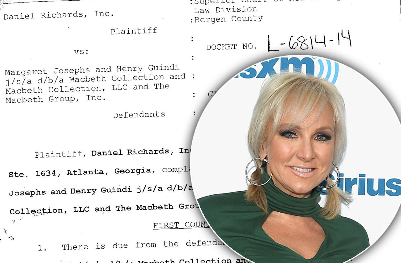 margaret josephs sued money problems rhonj
