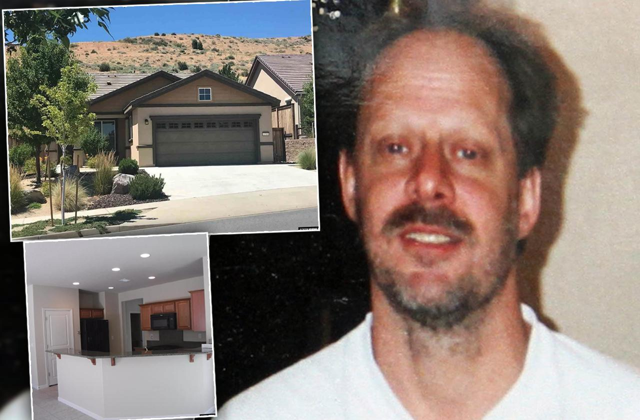 Stephen Paddock's Reno Nevada Home For Sale