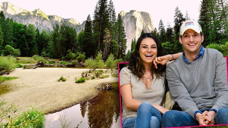 Mila Kunis & Ashton Kutcher Honeymoon
