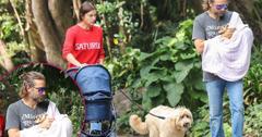 Bradley Cooper Irina Shayk Baby Daughter Stroller Walk