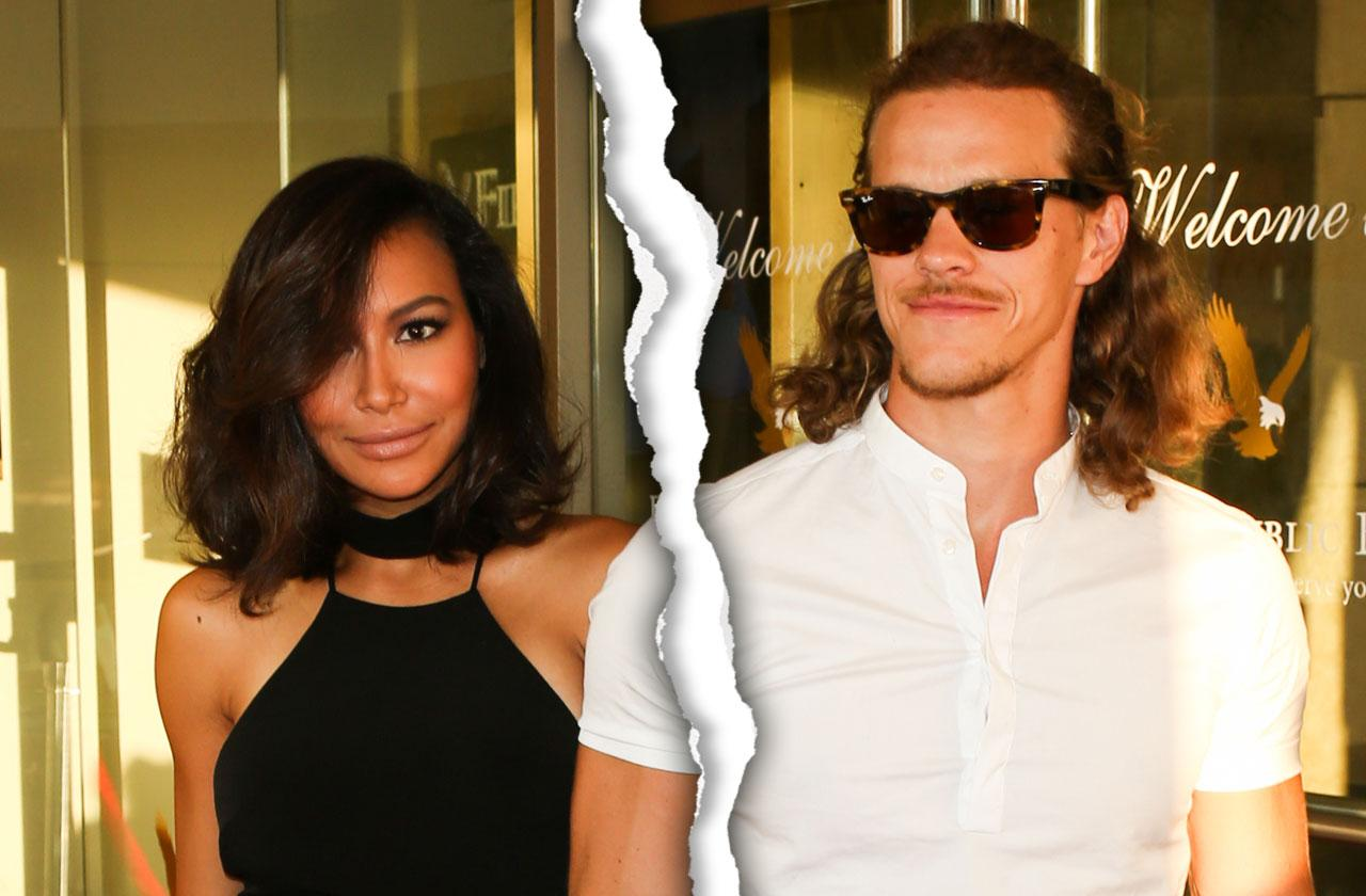 //naya rivera and husband head home separately after assault arrest pp