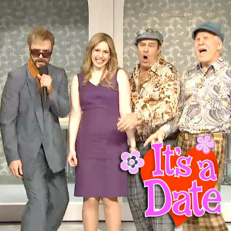 //its a date snl skit square