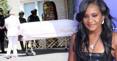 Bobbi Kristina Brown Funeral Casket