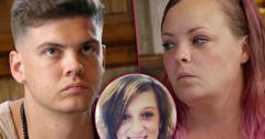 //Tyler Baltierra sister enters rehab drugs teen mom og pp