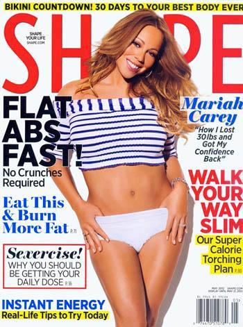 //mariah carey weight loss shape