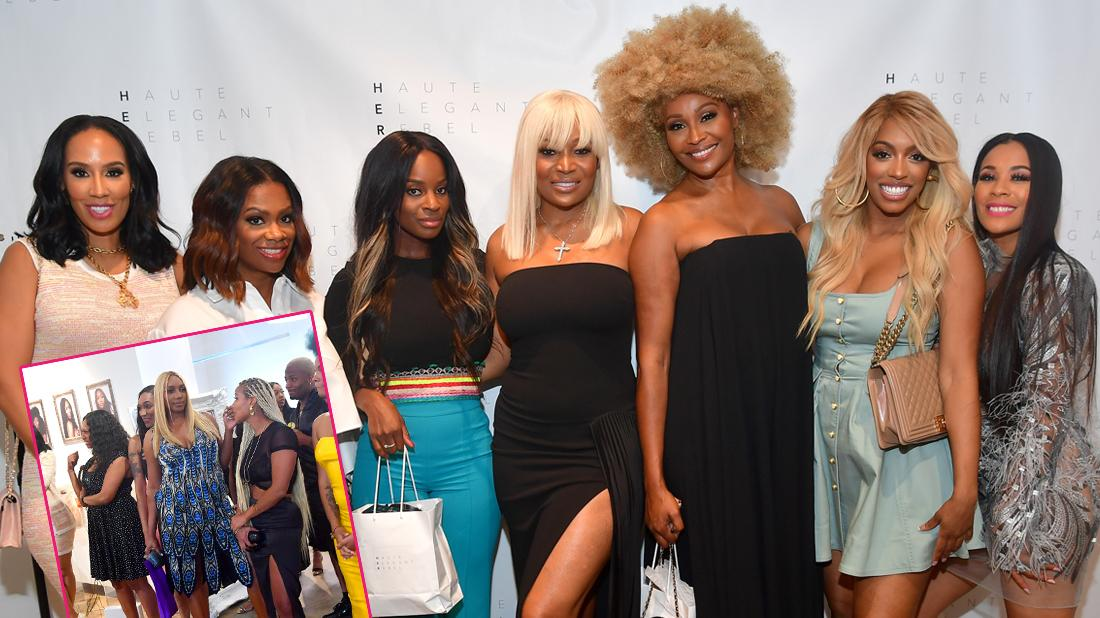 Nene Leakes attends Marlo Hampton's HER Hair Collection Soft Launch at Factory Atlanta on July 17, 2019 in Chamblee, Georgia.